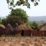Yamveldje voor het dorp