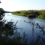 Okavago-delta in Botswana