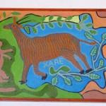 Botswana San schilderij