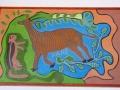 Botswana San schilderij2