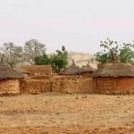 Dorp in de Sahel