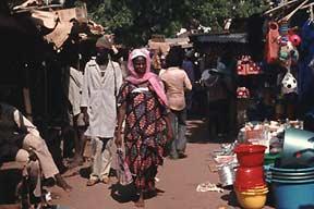 Markt Burkina Faso
