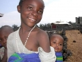 Meisje in Burundi