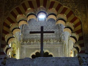 Een kruis in de moskee