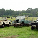 Kenia landrovers