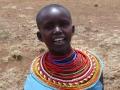 Kenia samburumeisje