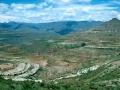 Lesotho landschap