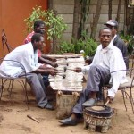Marimbaspelers in Blantyre