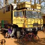 Malawi DAF vrachtwagen