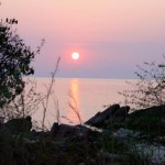 Malawi Foto zonsondergang
