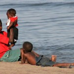 Kinderen aan het Lake Malawi