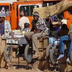 Op de markt van Segou