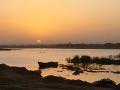 Zonsondergang Niger