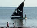 Mozambique vissersboot