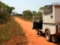 Weg Mozambique