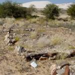 Namibie foto graven