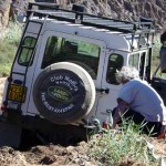 Namibie foto olifantenmodder
