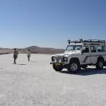 Namibie foto top witte bergen