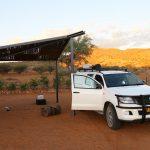 slaaplaats Rooizand, Namibie
