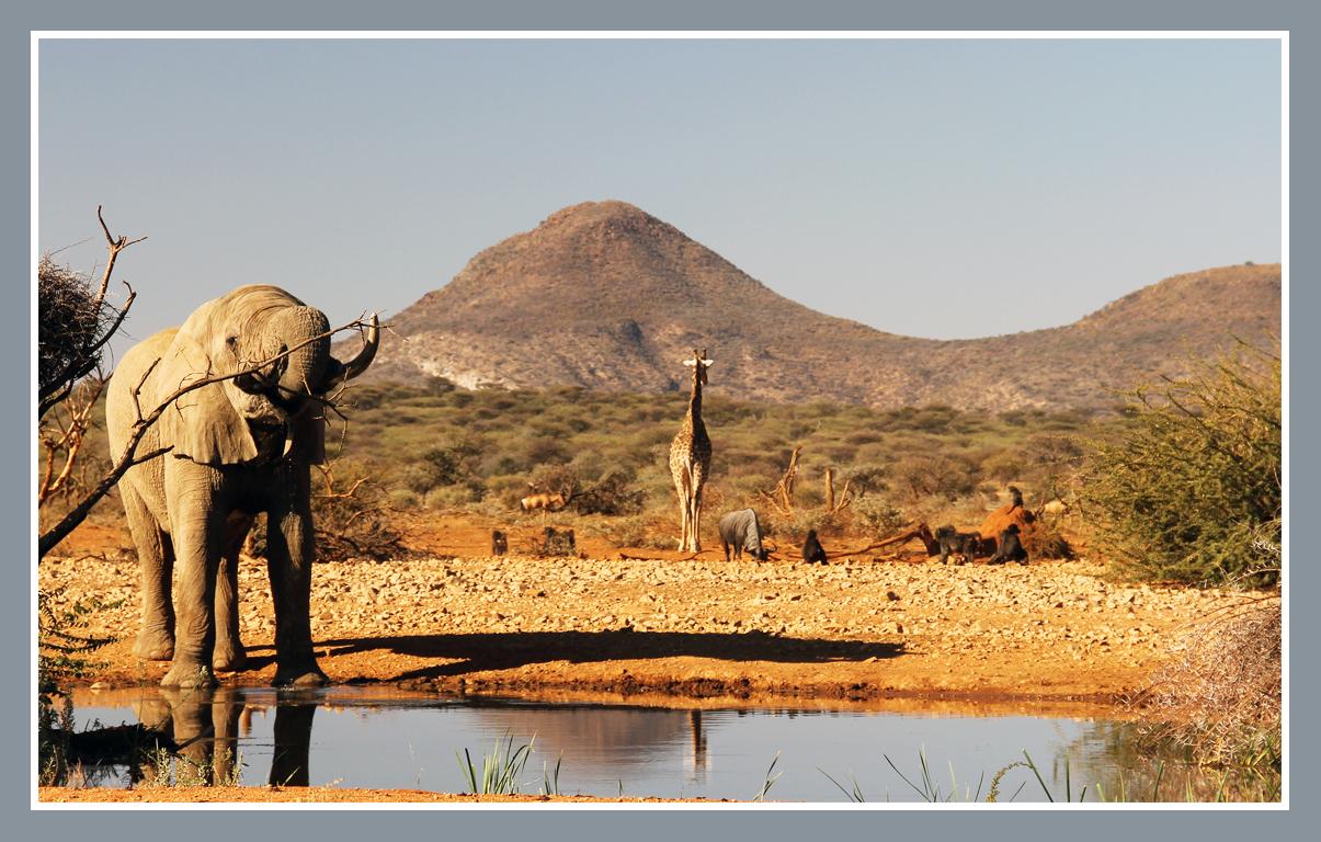 aards paradijs Namibie