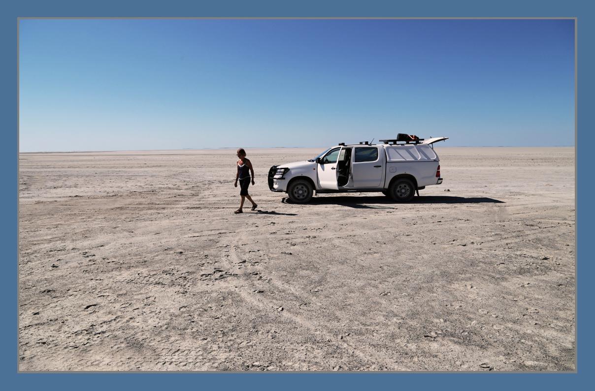 Zoutmeer Namibie