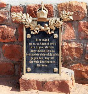 Duitse begraafplaats op het Waterberg plateau