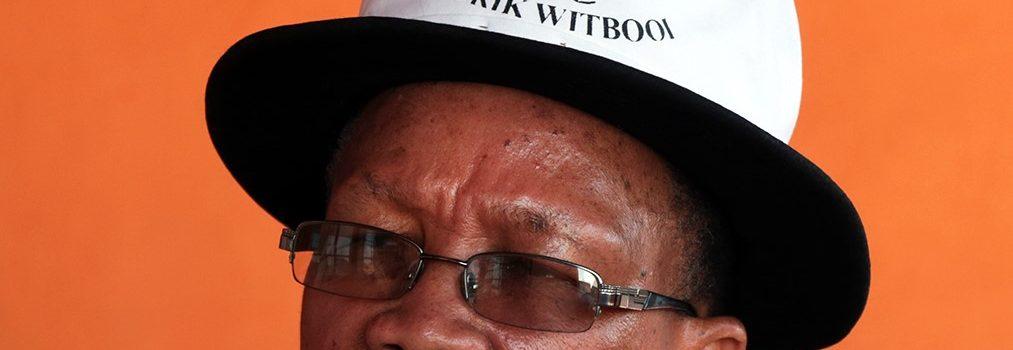 Een eerste teken van leven – Chief van de Witbooi clan Salomon J. Witbooi