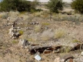 Namibie graven