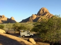 Namibie kampplaats