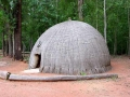 Traditionele hut Swaziland