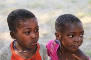 Kinderen caprivi