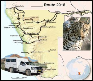 Namibie Route