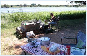 Ida aan het koken