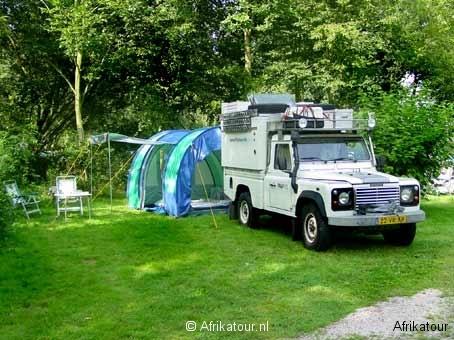 Pampus &tent
