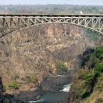 brug over de Victoria Falls