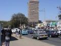 Stadsgezicht van Lusaka