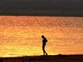 Zonsondergang Zambia