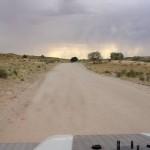 Foto Zuid Afrika regen Kalahari