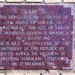 Foto Zuid Afrika Mandela monument