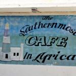 De zuidelijkste kroeg in Afrika